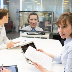 Video Teleconferencing from Productive AV